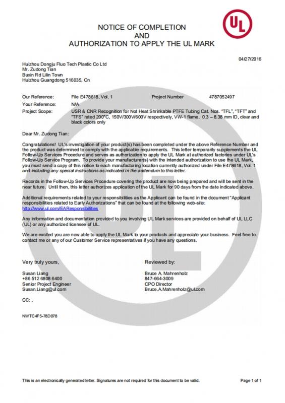 UL-安全检测证书